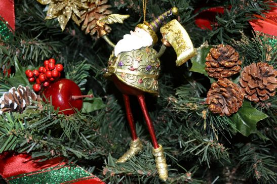 Carnival Wizard Christmas Ornament