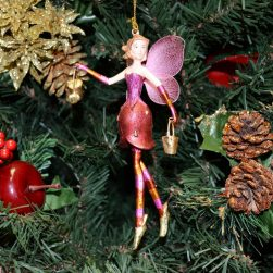 Christmas Angel Ornament - Cherry
